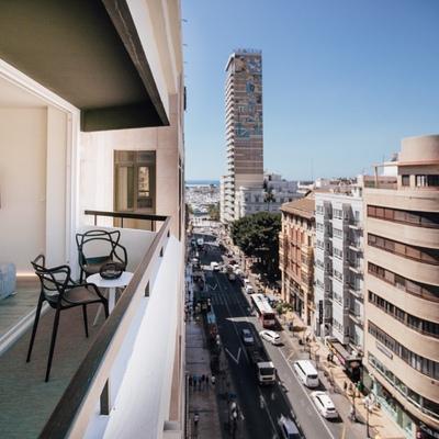 Elevadora en Apartamentos turisticos
