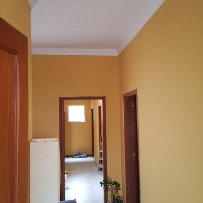 Pintura interior vivienda pasillos, techos y paredes