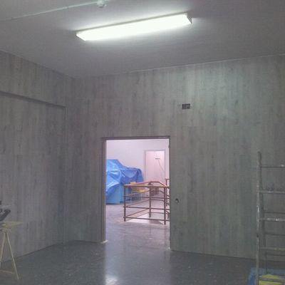 Forrado de paredes con parquet