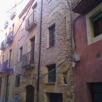 Rehabilitación fachada edificio en casco antiguo