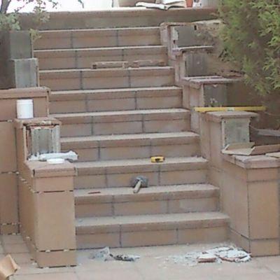 Escaleras Patio Sant Viçenc de Montalt