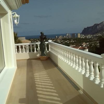 Terraza o balcon