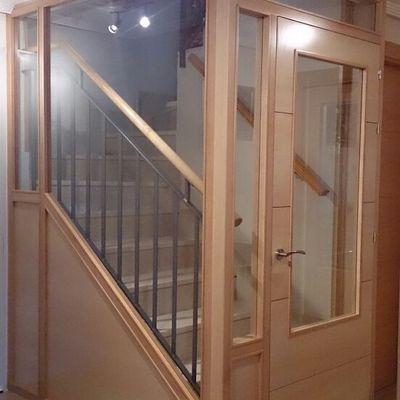 Cerramiento escalera