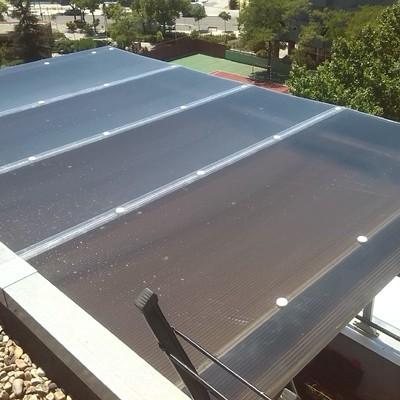 techo policarbonato celular