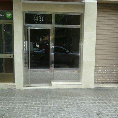 puerta de acceso a zaguan