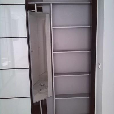 Interior de armario.