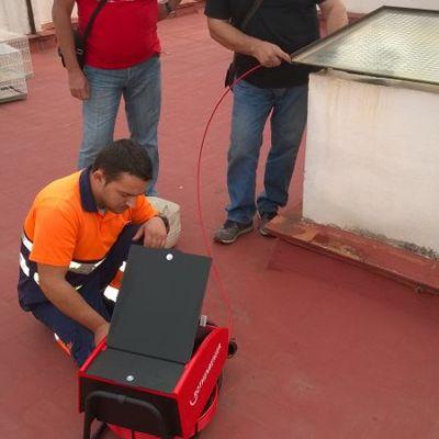 Uso de la cámara de inspección