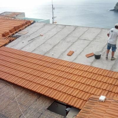 Rehabilitación de cubierta Teja Plana