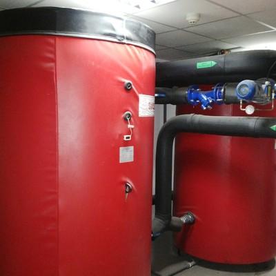 depositos de inercia para caldera de biomasa