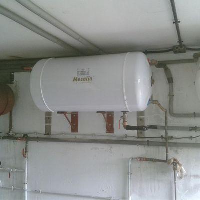 Instalación de caldera