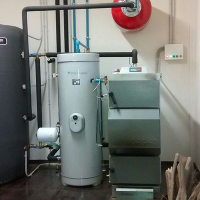 Sala calderas biomasa