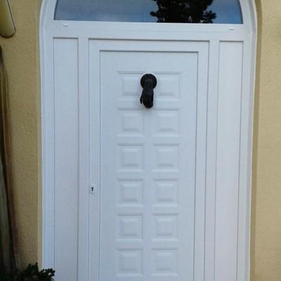 Puerta de entrada PVC/Porta d'entrada PVC