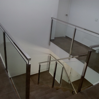 Escalera en vivienda