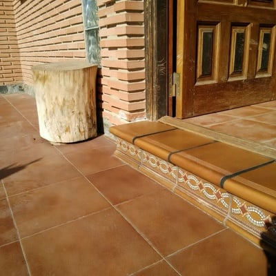 Colocación suelo terraza