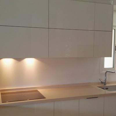 Cocina de diseño moderno.