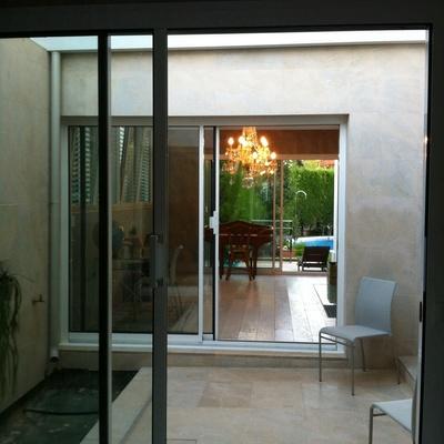 reforma patio chalet Arturo Soria