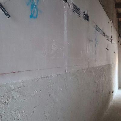 Reparación de paredes que sufren capilaridad