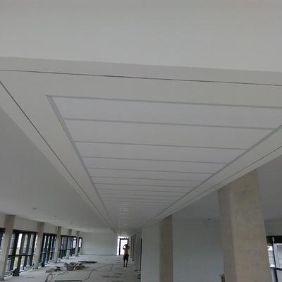 Falso techo fijo + oscuro + techo desmontable