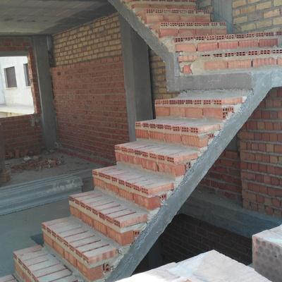 montaje de escalera