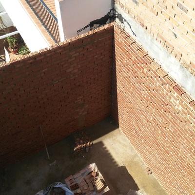 levantamiento de paredes
