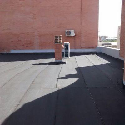 Impermeabilizacion de cubierta con tela asfaltica