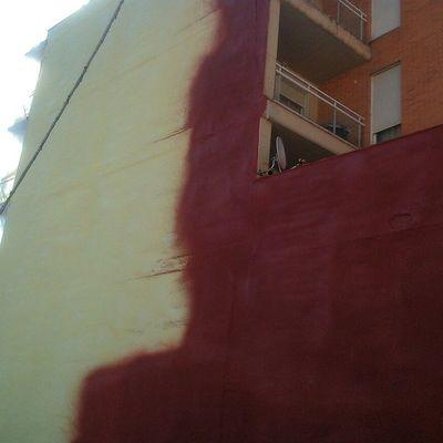 Impermeabilización fachada.