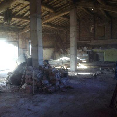 recogida de escombros para comienzo de obra