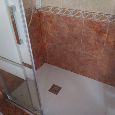 cambio bañera por placa de ducha mas mampara