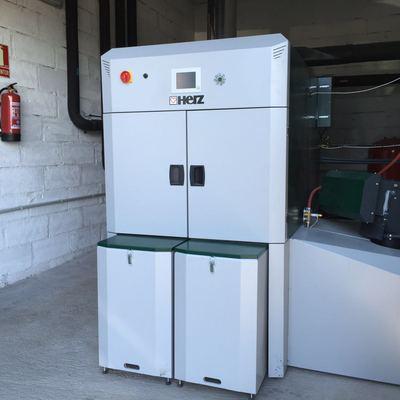 Caldera astillas 300 kW