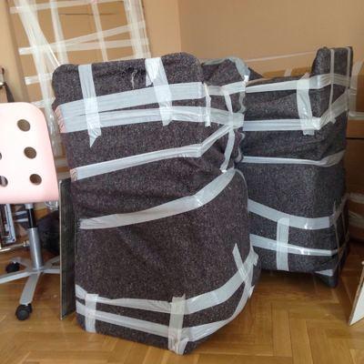 embalaje sillas