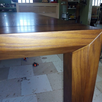Mesa comedor extensible madera dr roble