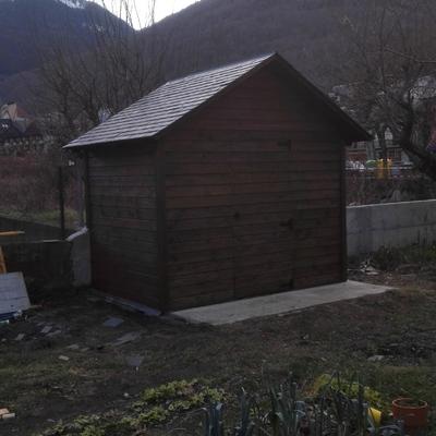 Caseta jardín 3x2 metros