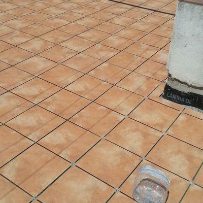 pavimento en terraza exterior