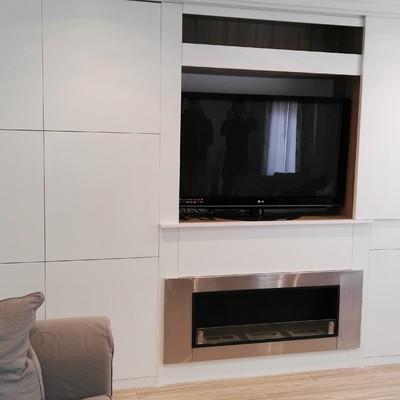 Sistema puerta para TV