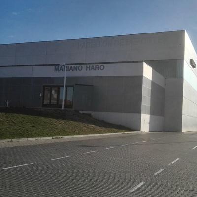 """Pabellón de deportes """" Mariano Haro"""" Palencia"""