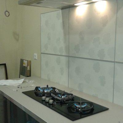 Instalación de Panelado, campana y cocina de Gas.