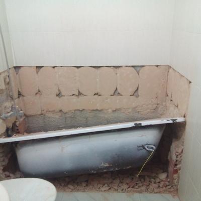 retirada de bañera