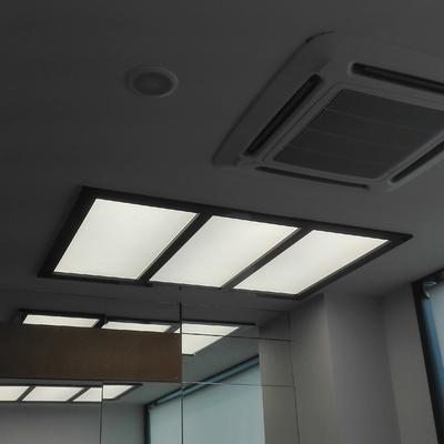 iluminación techo sala