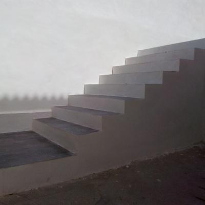 construcción de escalones