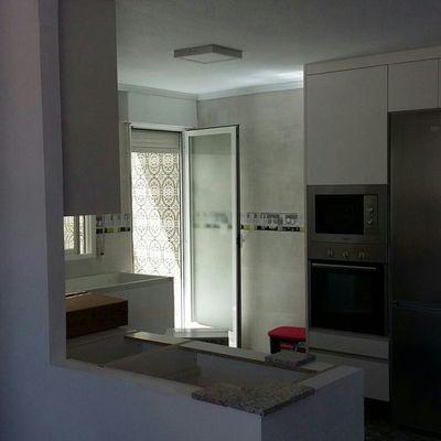 finalización con muebles y electridomesticos