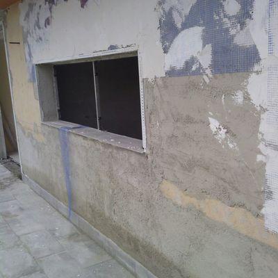 atico revestimiento de fachada