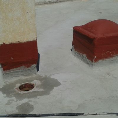 Impermeabilización de cubierta en colegio Ciudad Jardín