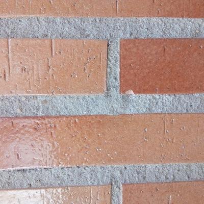 Tapado de agujero en fachada.