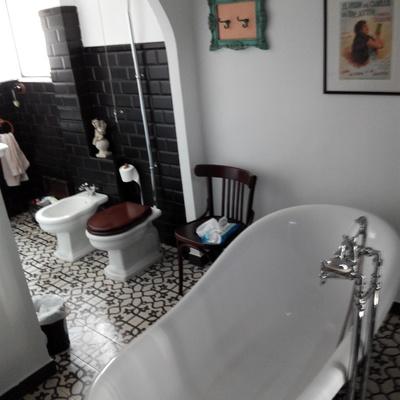 Baño en Chiva