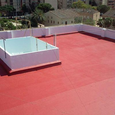 terraza y 4 deslunados
