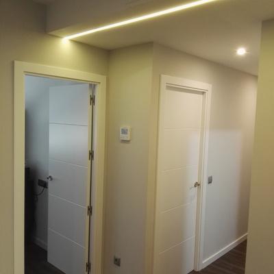 puertas y luces