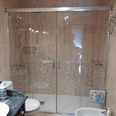 Cambio de bañera por plato de ducha.