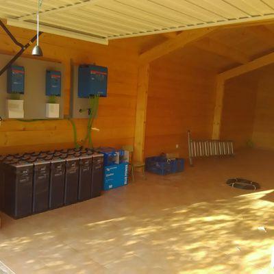 Instalacion en garage