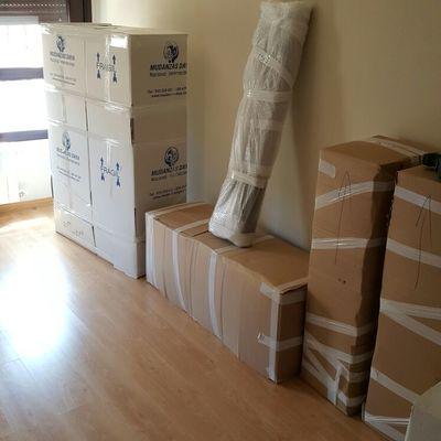 mueble modular embalado