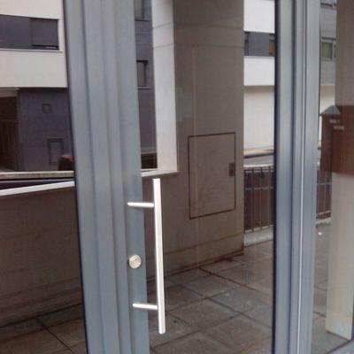 puerta portal pvc